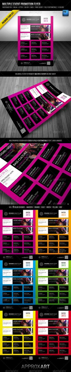 the 82 best flyer templates psd with qr code images on pinterest