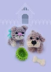 Ravelry: Cat and Dog Cuties pattern by Justyna Kacprzak