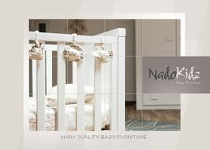 Furniture that 'grow' with your child... This means that all our cribs can be converted into toddler beds, making them ideal for up to approximately 5 years. Additionally, dressers feature large and deep drawers, able to fit everything from your baby's smallest clothes to dad's woolly jumper! #cribs #baby  #furniture #NADOKIDZ #greece