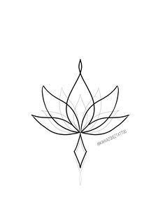 Ornamental lotus flower available to tattoo with Www.inst… - mi sitio - Ornamental lotus flower available to tattoo with Www. Unalome Tattoo, Hawaiianisches Tattoo, Arrow Tattoo, Tattoo Back Women, Back Tattoo, Tattoos For Women, Dot Work Tattoo, Mini Tattoos, Cute Tattoos