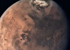 Full Disc of Mars As Seen by India's Mars Orbiter - SpaceRef