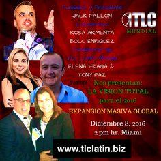 NO NOS PARA NADIE!! :) WWW.TLCLATIN.BIZ