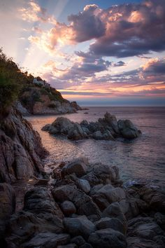 sundxwn:  Costa Brava  by Dave McEllistrum
