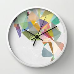 Graphic 201 Wall Clock
