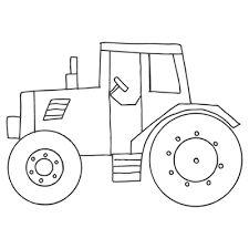 Tractor Border Clip Art   White Tractor Clip Art Image  black