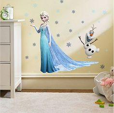 En nuestra tienda online las cosas más últiles para tu hogar: Clest F&H frozen elsa and olaf pegatinas de pared infantiles dormitorio decoración Mural del hogar #homedecor #garden #hogar #jardin #decoracion  Más en  http://todohogarweb.es/wordpress/producto/clest-fh-frozen-elsa-and-olaf-pegatinas-de-pared-infantiles-dormitorio-decoracion-mural-del-hogar/