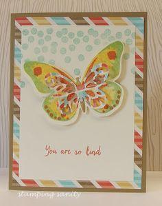 stamping sanity: Watercolor Wings