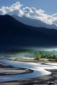 Indus River, Khaplu, Pakistan. | Stunning Places Click to read more