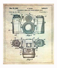 Sauer 1962 Camera Art Print