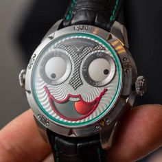 Clowns are taking over again. Joker Watch, Luxury Watches, Baselworld 2017, Guys, Instagram Posts, Top Ten, Accessories, Leaves, Smile