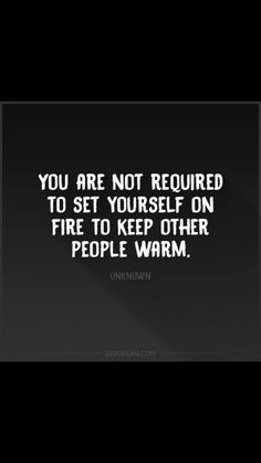 It's okay to keep yourself safe from individuals who require you to silently endure emotional pain in order to keep them happy ...