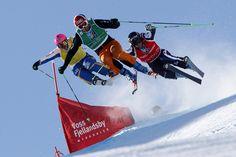 VOSS, NORWAY - MARCH 10: FIS Ski Cross Freestyle World Ski Championships CREDIT:  Alexis BOICHARD/Agence Zoom