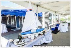 Andree Kehn Wedding Photography, sailboat, decoration, seashells