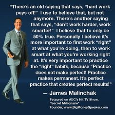 #JamesMalinchak Work Right James Malinchak Quote Box