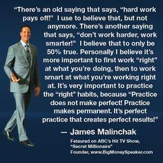 #JamesMalinchak Work Right James Malinchak Quote Box