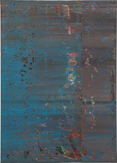 Abstraktes Bild 638-4(1987); by Gerhard RichterDetails: Oil on canvas 48 x 341/4 in. _______ Source: Heathwest: