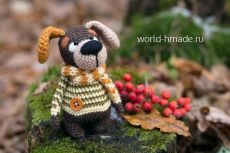 world-hmade.ru Little Dogs, Master Class, Free Crochet, Crochet Patterns, Teddy Bear, Christmas Ornaments, Toys, Holiday Decor, Animals