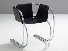 MANGIAROTTI : P71 Armchair, ca 1950 design by Angello Mangiarotti- Agapecasa