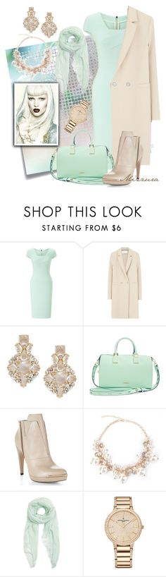 """Pastels"" by mizzura ❤ liked on Polyvore featuring Post-It, Roland Mouret, Harris Wharf London, Kate Spade, Rebecca Minkoff, Hervé Léger, Furla and Vacheron Constantin"
