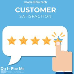 Every #good #company wants to provide #excellent customer #service, but it's not always #easy.   A #customer talking about their #experience with you is worth ten times that which you write or say about #yourself.   #Satisfied #customers is the# best source of #advertisement.  #difm #doitforme #onlinebusiness #smallbusiness #difmtech #marketing #digitalmarketing #webservices #startup #difmgroup #wisdomwednesday #wednesdaywisdom #technologywisdom #socialmediagrowth #customersatisfaction…