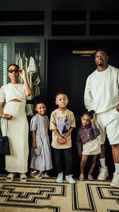Beautiful Black Babies, Black Love Art, Beautiful Family, Beautiful Children, Cute Family, Family Goals, Black Couples Goals, Cute Couples, Family Portraits