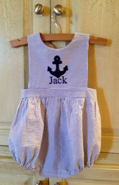 Creations By Michie` Blog: A Sunsuit For The Boys