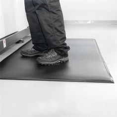 One can find a variety of anti-fatigue matting options online. These types of mats reduce stress from long hours of standing.