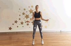 The 30-Minute HIIT Jump Rope Workout: In and Out Jumps Exercise
