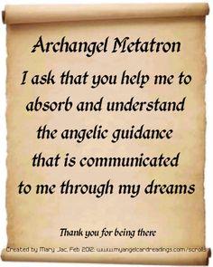 ღ Archangel Metatron ღ