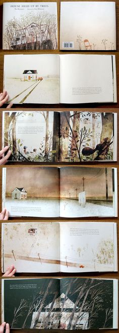 Book Illustrations, House Illustration, Illustrator, Children Books, Jon Klassen, Edition Jeunesse, Design Editorial, Children's Picture Books, Book Layout