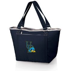Topanga Cooler Tote - Navy (University of Delaware - Blue Hens) Embroidered