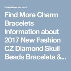 Find More Charm Bracelets Information about 2017 New Fashion CZ Diamond Skull Beads Bracelets & Bangles Braided Macrame Jewelry Red String Rope Charm Bracelet for Men Women,High Quality bracelet watch for men,China bracelet scorpion Suppliers, Cheap bracelet stretch from Pipitree Jewellery & Accessories Store on Aliexpress.com
