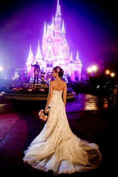 Charming Ideas For Disney Wedding ❤ See more: http://www.weddingforward.com/disney-wedding/ #weddings