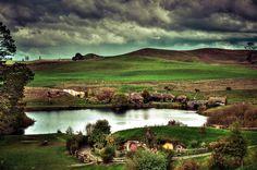 OK, this is #1 on my list now! New Zealand hobbit village | Hobbiton – the Real Hobbit Village in Matamata, New Zealand