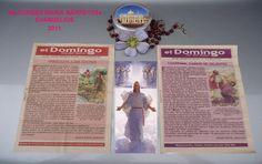 TODOS LOS EVANGELIOS 2011 QUE HE LEIDO Y RECIBIDO LA EUCARISTIA.†♠ LOURDES MARIA BARRETO†♠