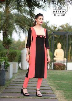 3de705febf9 MITTOO PALAK VOL 3 WHOLESALE KURTI MANUFACTURER. Women Salwar SuitSalwar SuitsWestern  KurtisGeorgette ...