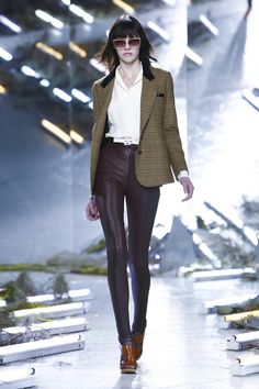 Sharp jacket! - Rodarte #NYFW #FW15 #RTW #fashion
