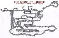 Friday Map - Side View of the Ruins of Tuhrek