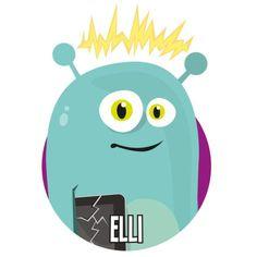 Bild på Elli i en rund cirkel