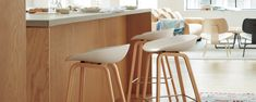 About A Stool 32 - Design Within Reach Kitchen Black Counter, Modern Counter Stools, Black Counters, Bar Counter, Bar Stools, Grey Oak, Design Within Reach, Walnut Veneer, Cabinet Makers
