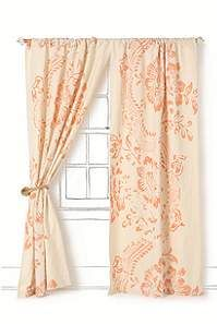 lovely delicate pattern and gorgeous clear orange color.  bright and happy
