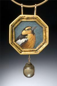 Christina Goodman #bird #necklace
