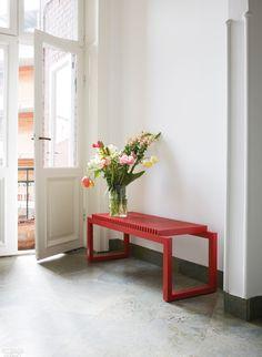 16 Danish Furniture Highlights from Copenhagen's 3 Days of Design New Interior Design, Interior Design Magazine, Interior Styling, Space Copenhagen, 1950s Design, Danish Furniture, Red Design, Scandinavian Interior, Danish Design
