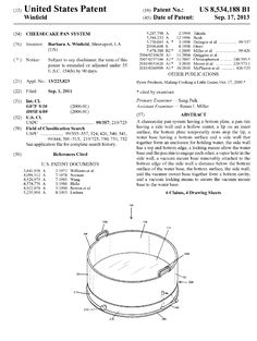 Apparently there is such a thing as #nationalpumpkincheesecakeday and its tomorrow so here's a #patent for a #cheescake pan
