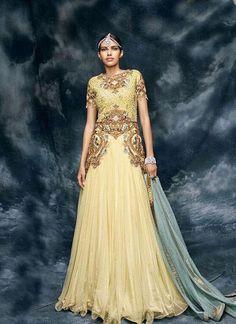 New Bollywood Indian Pakistani Anarkali Ethnic Dress Kameez Salwar Suit Designer #KriyaCreation #Designer