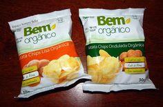 Espaço Sempre Bella: #Resenha - Batatas Chips Lisa e Ondulada - Bem Org...
