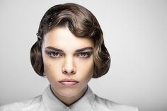 wavy #bob flapper hairstyle from the #1920s