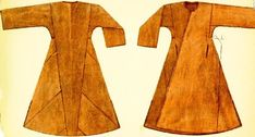 viking coat | caftan/viking coat - works 4 early/north Rus as well. Not sure where ...