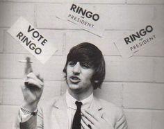 theswingingsixties: Ringo for President