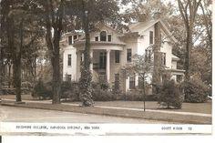 Saratoga Springs NY Skidmore College Scott House Photo Postcard 1954 Postmark | eBay